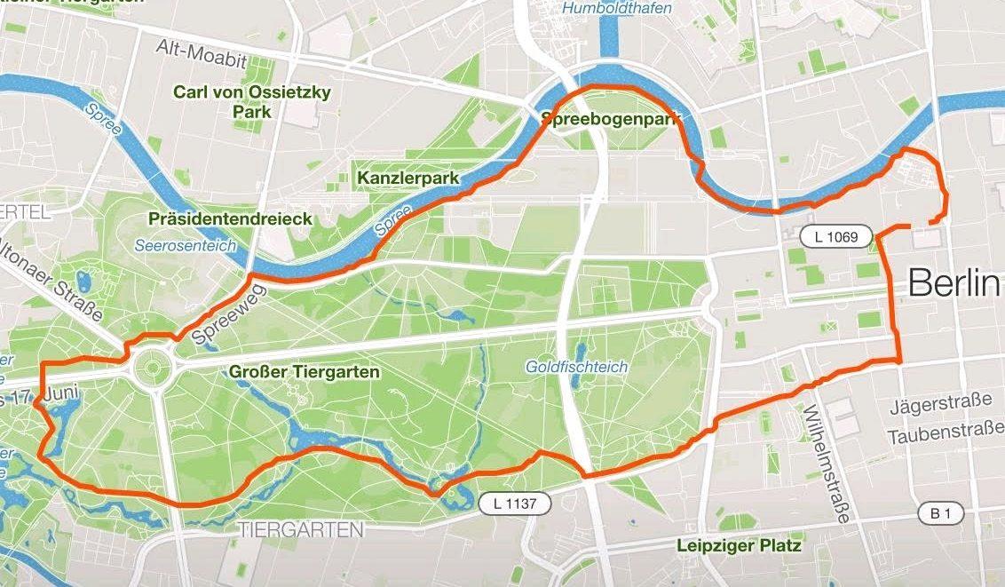 27.07. Laufen in Berlin