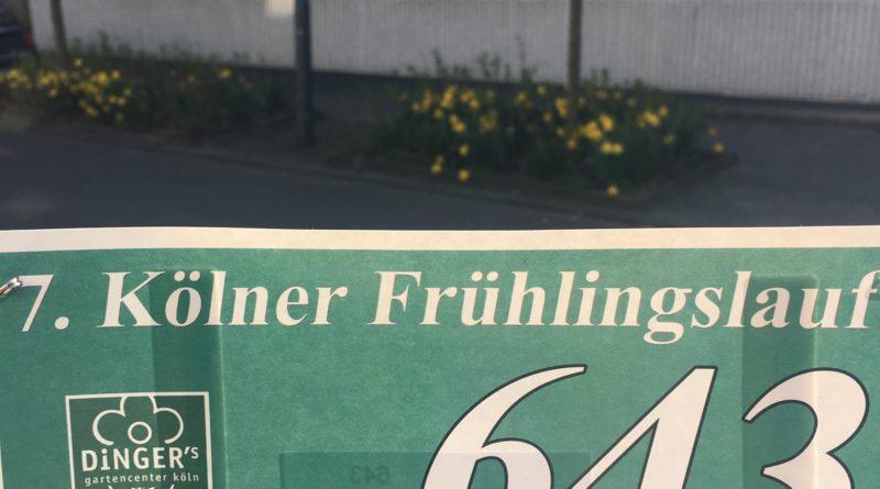 Startnummer 7. Kölner Frühlingslauf 2017